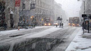 Метеорологическое бюро объявило желтый уровень опасности в связи с гололедицей