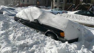 Коммунальным службам Ковентри мешает снег