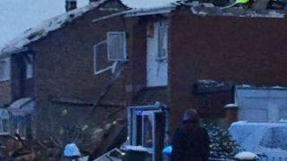 Лестершир: в результате взрыва разрушен дом