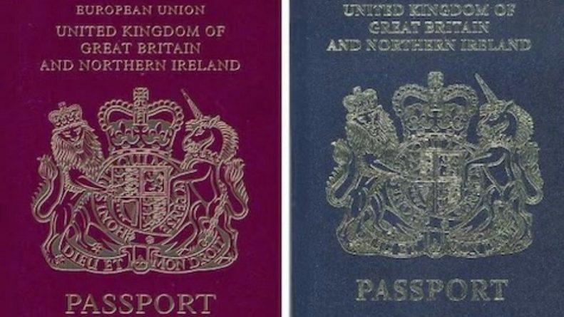 Политика: Новые паспорта британцев символизируют не только гордость, но и ограничение свободы передвижения