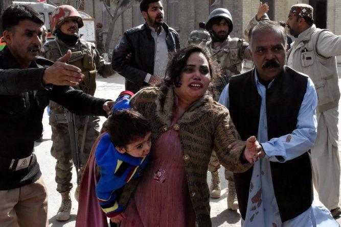 Quetta, Pakistan, attack