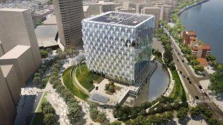 Новое здание посольства США в Лондоне напоминает средневековую крепость