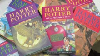 Украдено первое издание книги о Гарри Поттере стоимостью £40 тысяч