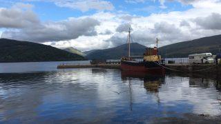 В озере Лох-Фин затонула лодка с двумя рыбаками