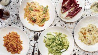 Итальянский ресторан в Сохо предлагает пасту ручной работы и ледяное просекко