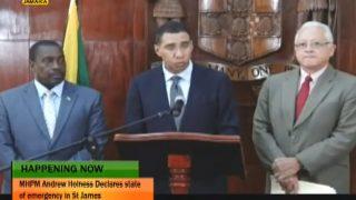 Британских туристов предупредили о чрезвычайной ситуации на Ямайке