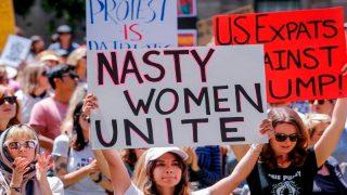 Марш женщин в Лондоне: организаторы призывают людей