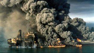 Горящий танкер с нефтью затонул возле Китая спустя неделю после начала пожара