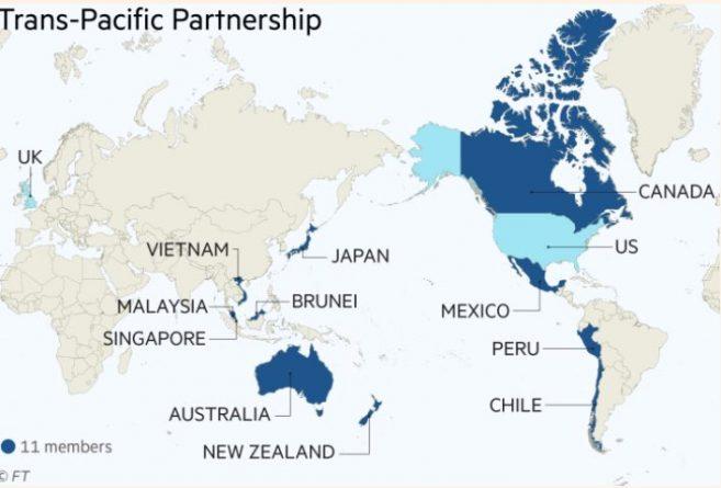 TTP, Trans-Pacific Partnership, UK