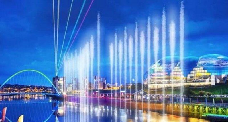 Технологии: На знаменитой британской выставке появится огромный фонтан