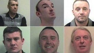 Самая опасная банда Шотландии получила в сумме 87 лет тюрьмы