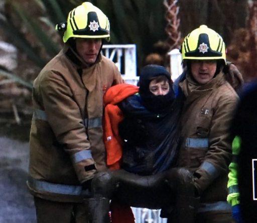 Мальчик спасен из прибрежного ила в Шотландии