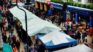Идеальный выходной: самые известные рынки Лондона   Часть 1