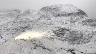Мужчина упал с обрыва в Валлийских горах