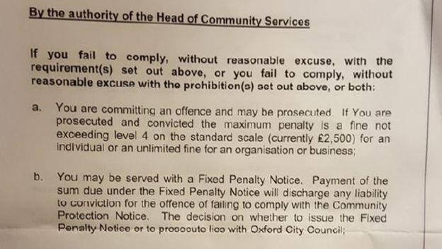 В Оксфорде бездомным грозит штраф до £2,5 тысяч рис 2