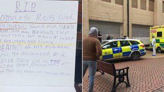 Бездомный найден мертвым около магазина в Эссексе