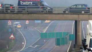 На автомагистрали M20 обнаружен труп