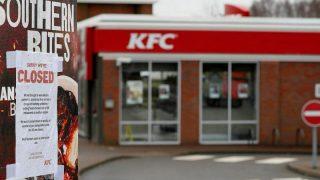 KFC в Великобритании закрывает рестораны из-за отсутствия курятины