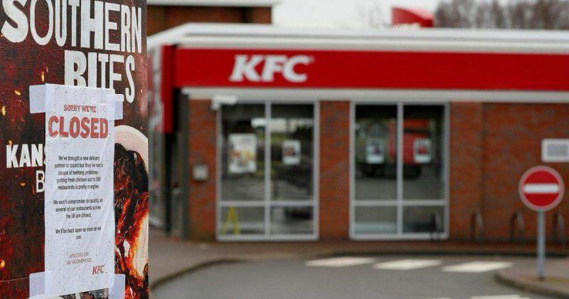 Бизнес и финансы: KFC в Великобритании закрывает рестораны из-за отсутствия курятины