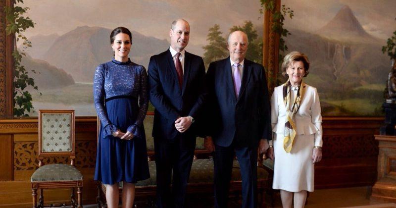 Политика: Герцог и герцогиня Кембриджские прибыли в Осло