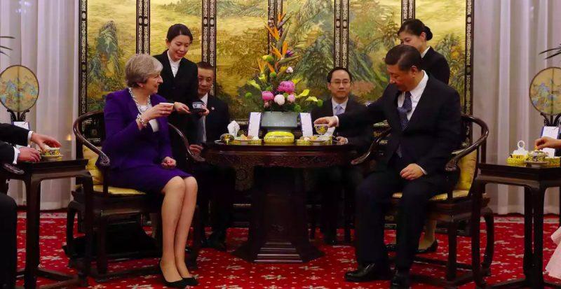 "Политика: Тереза Мэй проигнорировала китайский меморандум о ""Шелковом пути"""