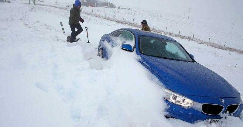 Погода: Что такое снежная гроза? Британцы смогут увидеть редкое метеорологическое явление