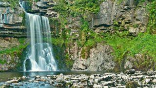 Самые красивые места Британии: водопады Инглетон