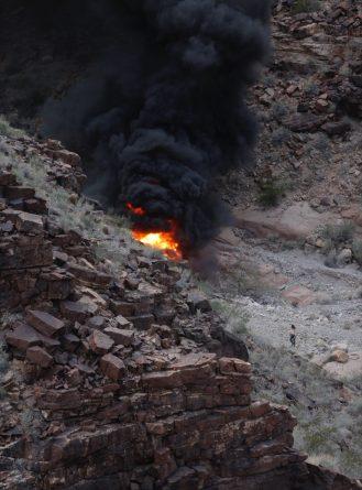 Крушение вертолета в Гранд-Каньоне: погибло трое британцев