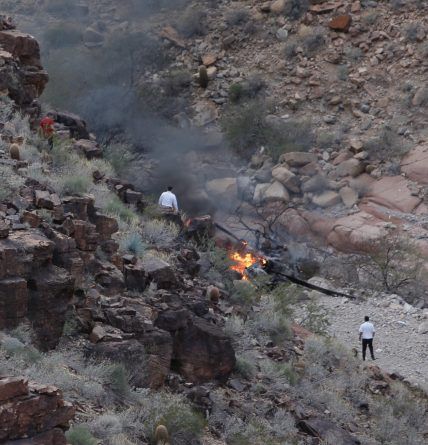 Крушение вертолета в Гранд-Каньоне: погибло трое британцев рис 2