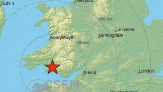 Землетрясение силой 4,7 баллов произошло в некоторых районах Великобритании