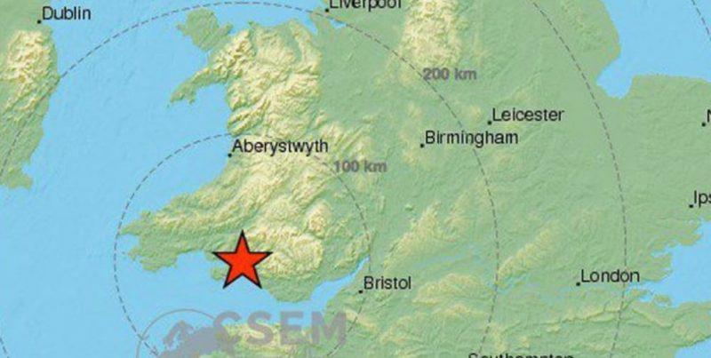 Происшествия: Землетрясение силой 4,7 баллов произошло в некоторых районах Великобритании
