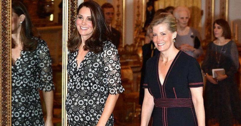 Знаменитости: Кейт Миддлтон и Софи, графиня Уэссекская, пригласили на прием известных моделей и дизайнеров
