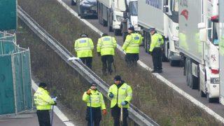 На оживленной автомагистрали М20 найдена мертвой 32-летняя женщина. Причины гибели неизвестны