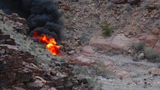 Крушение вертолета в Гранд-Каньоне: уже четверо погибших