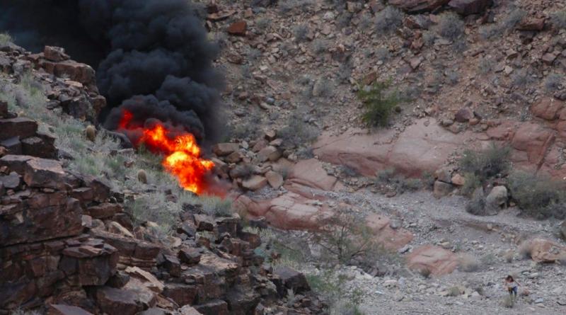 В мире: Крушение вертолета в Гранд-Каньоне: уже четверо погибших