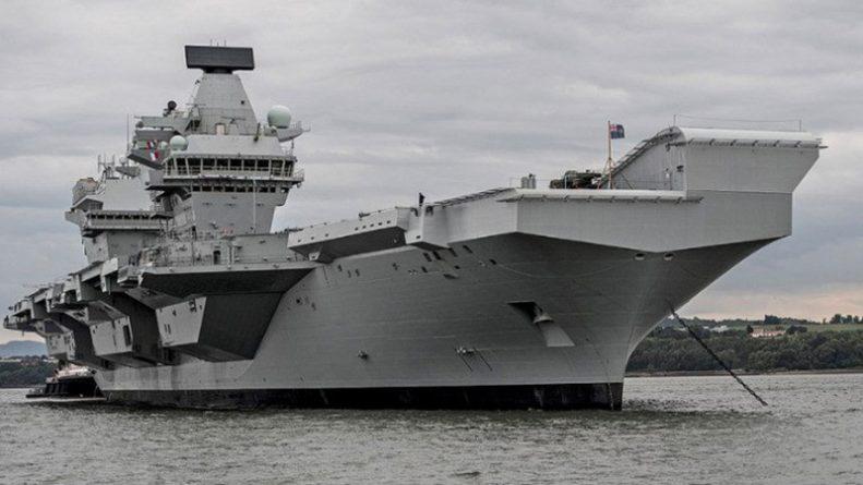 Технологии: Новый британский авианосец преследуют неприятности