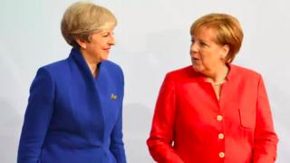 Ангела Меркель и Тереза Мэй встретятся за столом переговоров