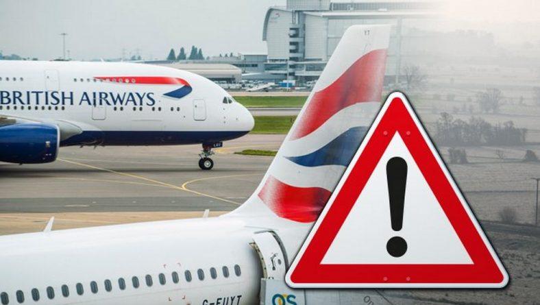 Погода: Непогода отменила рейсы British Airways