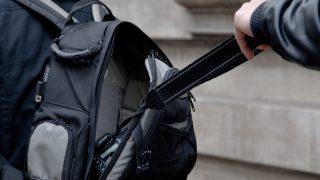 Мгновенная карма: украв телефон, грабитель попал в аварию