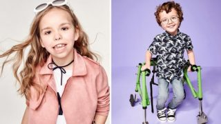 В рекламной кампании River Island приняли участие дети с физическими недостатками
