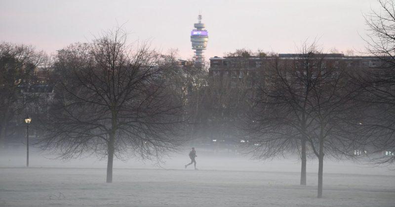 Погода: Погода в Британии: начало недели будет холодным и снежным