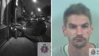 Водитель-наркоман чуть не убил полицейского, приняв его за Бэтмена