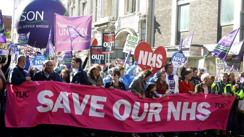 Здоровье и красота: Британское здравоохранение не будет приватизировано: общественность против