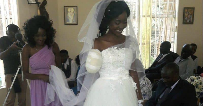 Общество: Крокодил не разлучит их: девушка не отменила свадьбу, несмотря на то, что накануне крокодил откусил ей руку