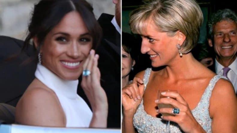 Популярное: Гарри преподнес Меган Маркл кольцо своей матери, принцессы Дианы