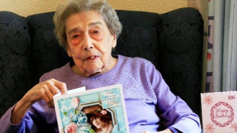 Общество: Секрет долгой жизни раскрыт: британка, которой 106 лет, никогда не ходила на свидание и не имела бойфренда