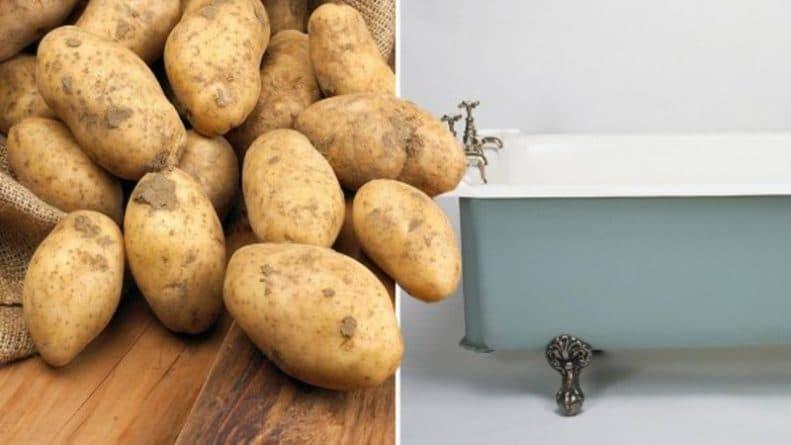 Юмор: Сотрудники Travelodge застукали мужчину в лифчике за наполнением ванны картофелем