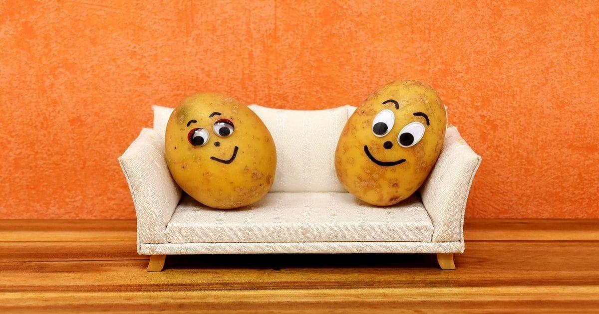 Сделать, смешная картинка про картошку