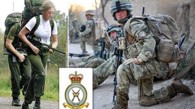 Общество: Первая женщина, решившая служить в боевых войсках Британии, не выдержала нагрузки тренировок