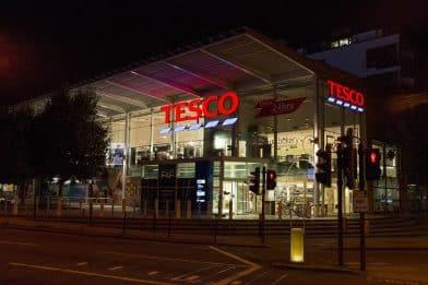 Супермаркет Tesco